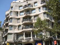 Casa Mila, La Pedrera, Gaudi Buildings, barcelona attractions