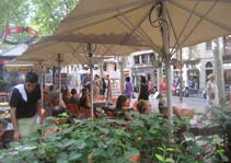 Cafes, Las Ramblas, Barcelona Top 10, Barcelona Top Ten Sights