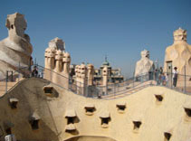 Gaudi, Modernism, Casa Mila, La Pedrera, Rooftop Sculpture