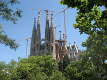 Gaudi Architecture, Sagrada Familia, Towers, barcelona what to visit