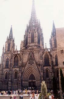 barcelona cathedral, catedral barcelona, barri gotic barcelona