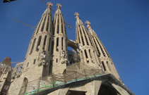 Sagrada Familia, Towers, Gaudi Church, Unfinished