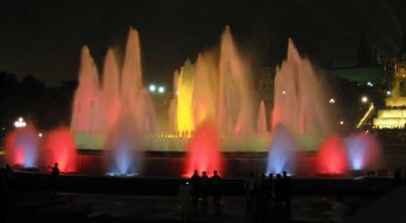 Magic Fountain, Montjuic, Barcelona Top 10, Barcelona best, tourist sites, sights