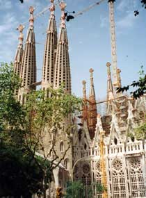 Sagrada Familia, Antoni Gaudi, Barcelona Top Ten Things to Do, top 10, top ten