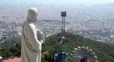 Tibidabo, Amusement Park, Parc d'Atraccions del Tibidabo, 10 Most Fun Things to Do in Barcelona Spain